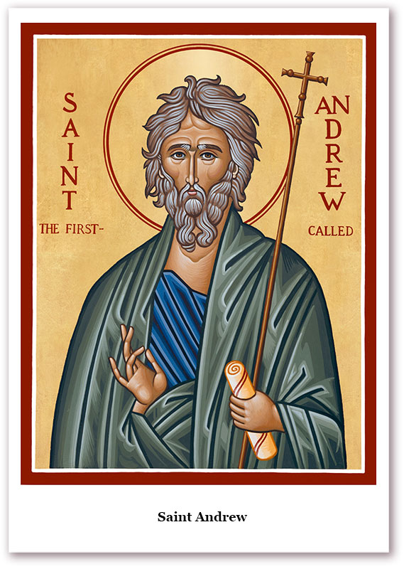 St. Andrew Holy Cards