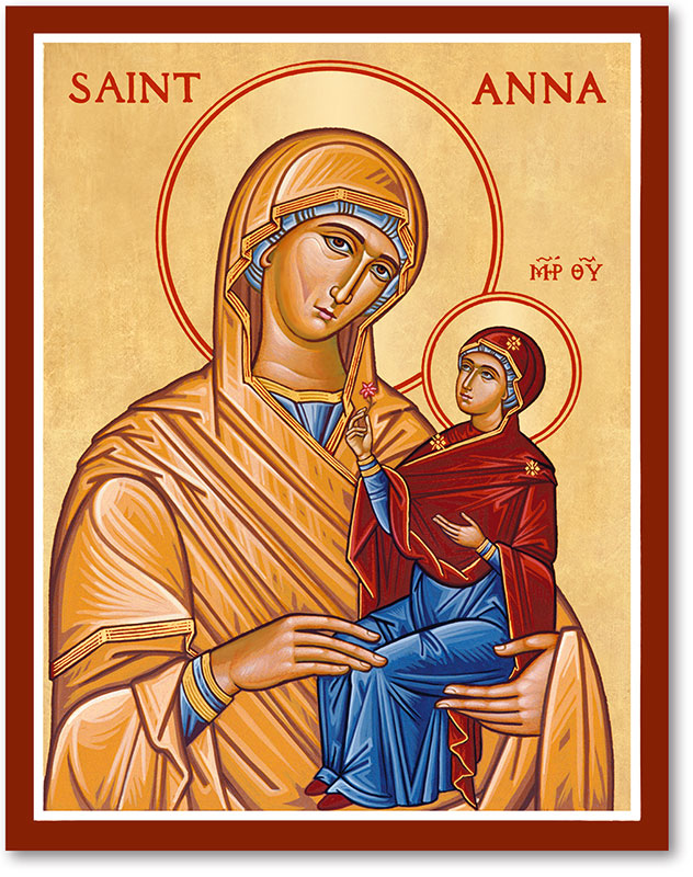 Saint Anna Icon Magnet