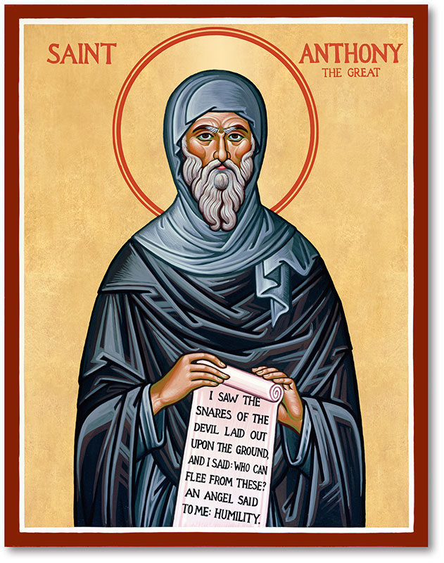 St. Anthony the Great Icon