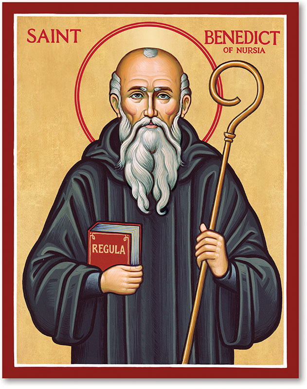 St. Benedict Icon