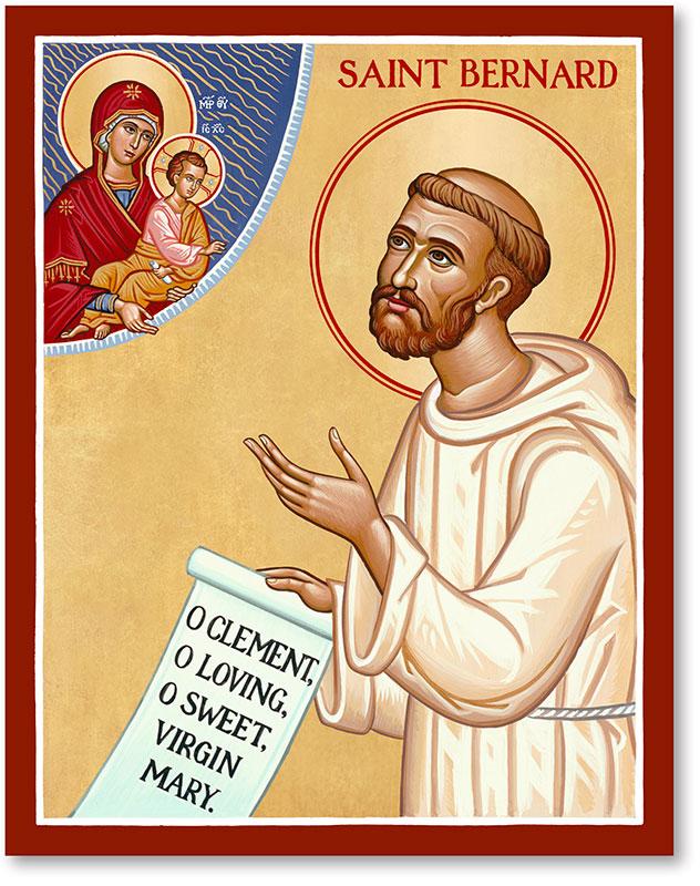 St. Bernard Icon