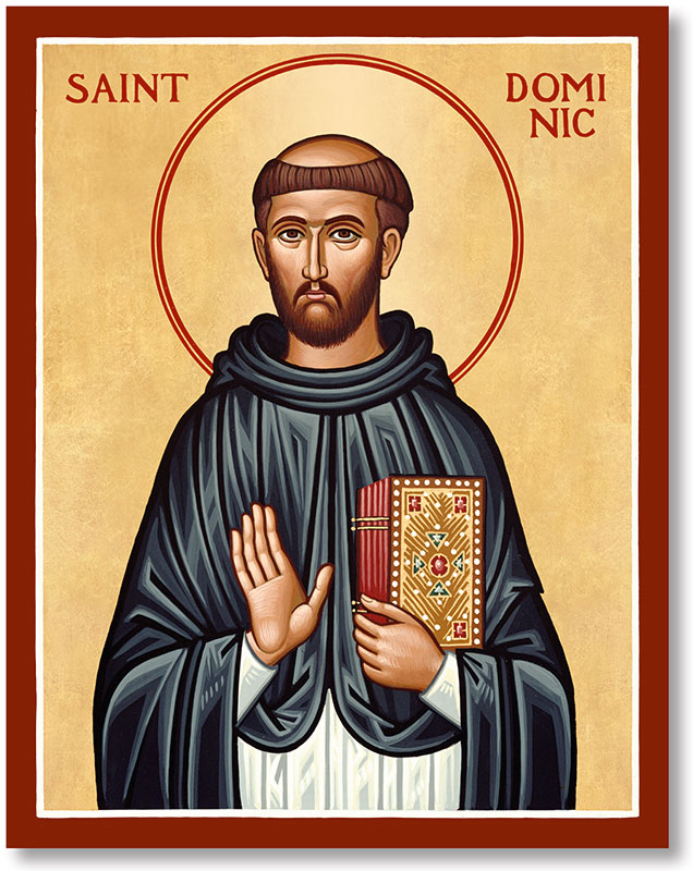 St. Dominic Icon