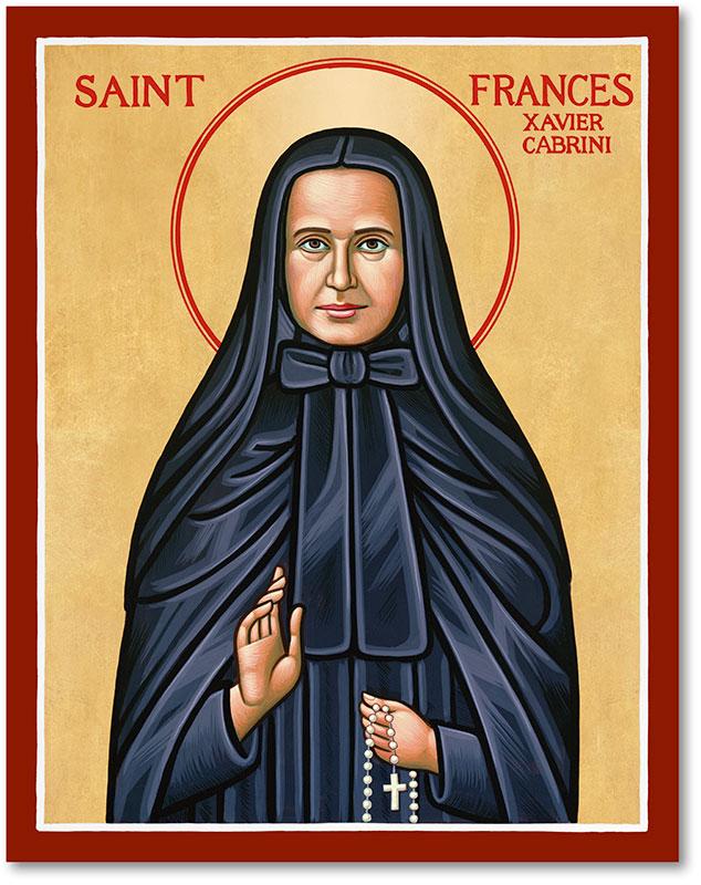 St. Frances Cabrini Icon