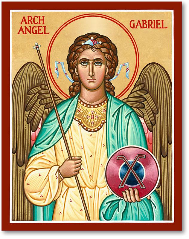 St. Gabriel Icon