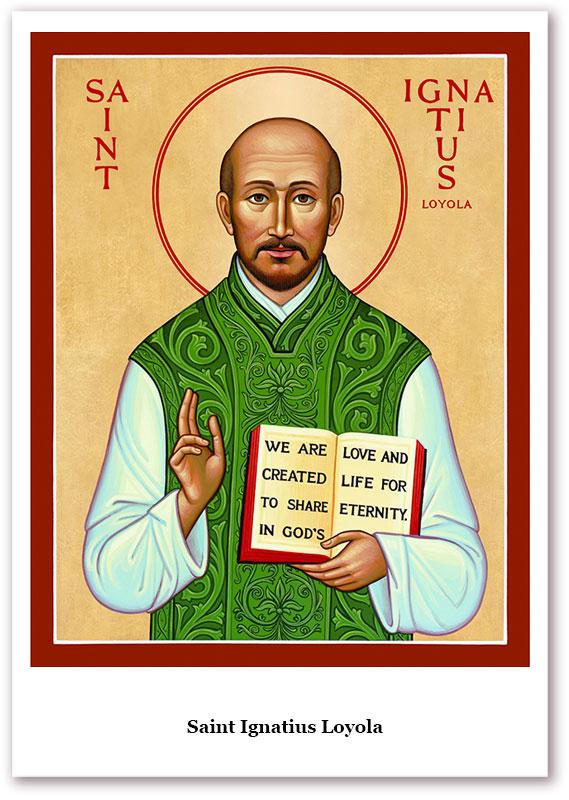 St. Ignatius Loyola Holy Cards