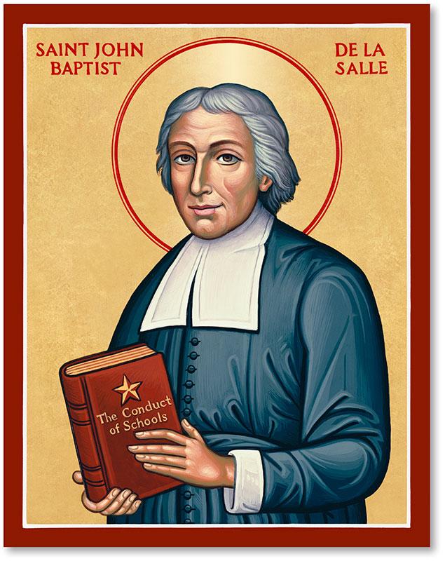 St John Baptiste de La Salle Icon