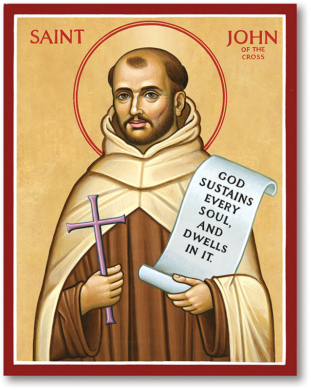 St. John of the Cross Icon