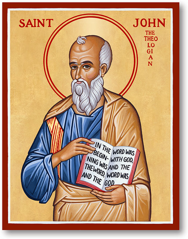 St John the Evangelist Icon