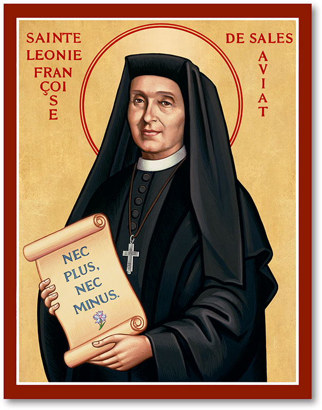 St. Leonie Aviat Icon