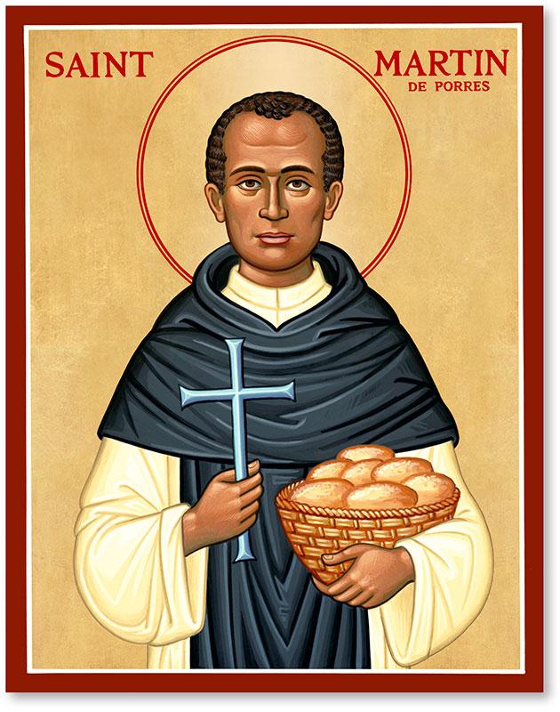 St. Martin de Porres Icon