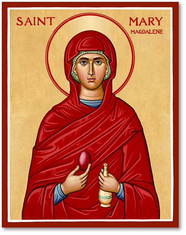 St Mary Magdalene Icon