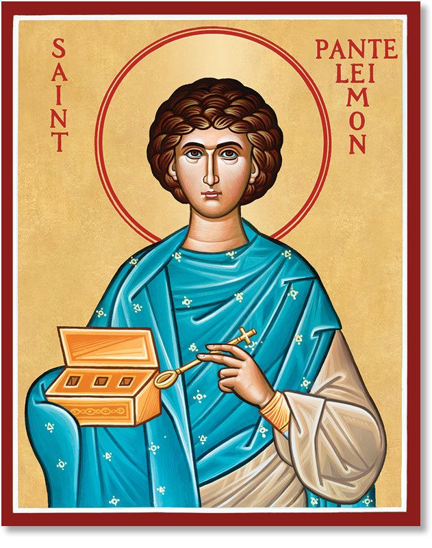 St Panteleimon Icon