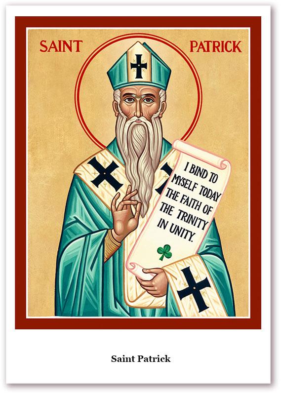 St. Patrick Holy Cards