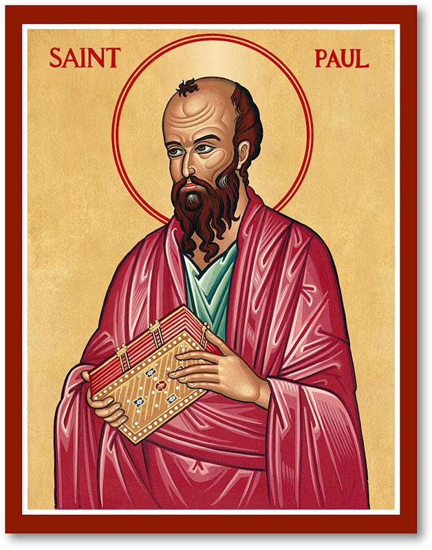 Saint Paul Icon Magnet