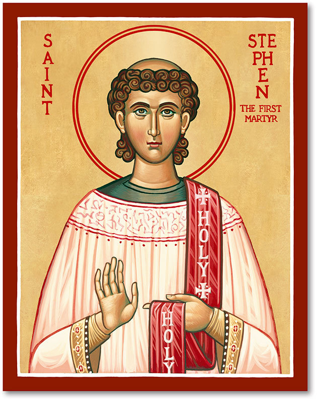 Saint Stephen Icon Magnet