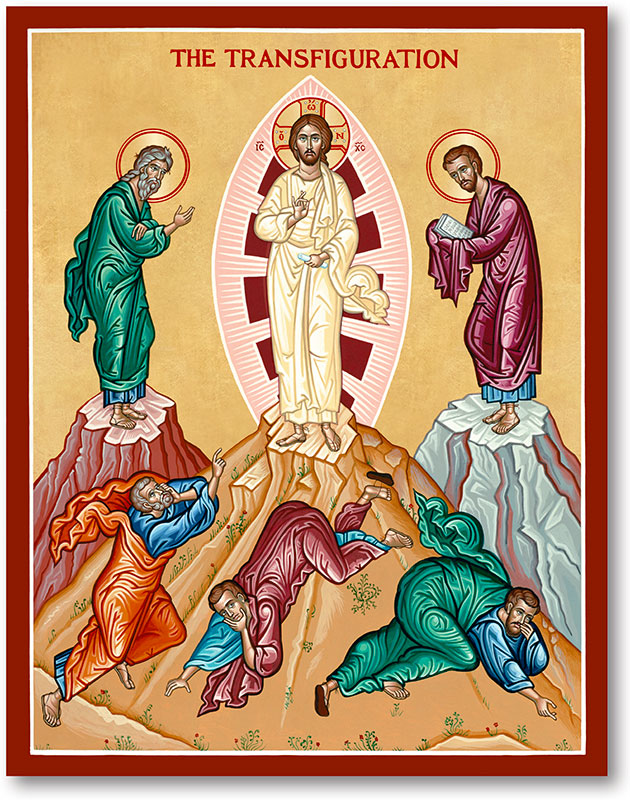 Great Feast Icons: Transfiguration Icon | Monastery Icons