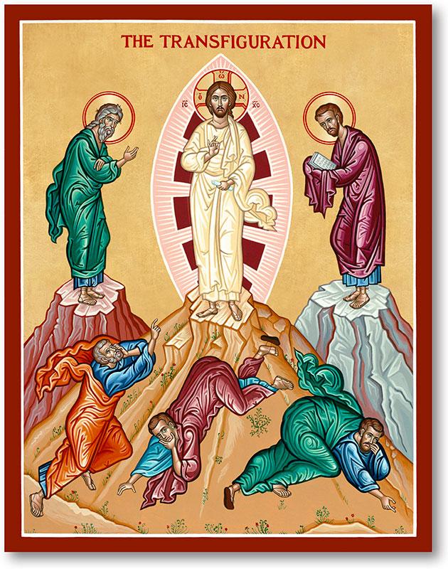 Transfiguration Icon