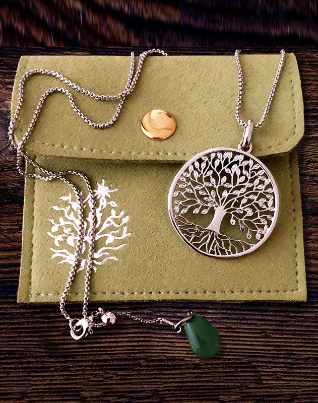 Tree of Life Pendant - Stainless Steel