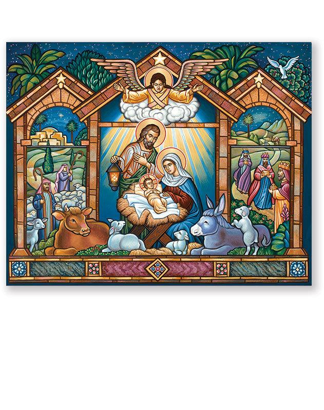 Vinyl Christmas Window Icon