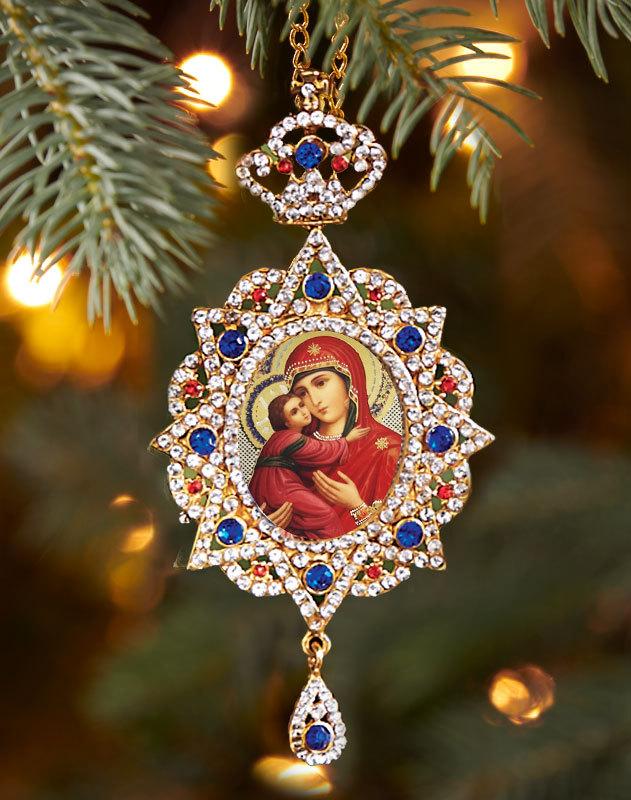 Virgin of Tenderness Heirloom Ornament