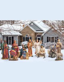 12-Piece Outdoor Nativity Set