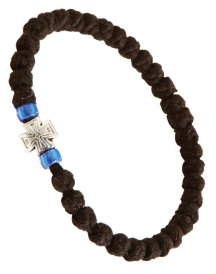 33-knot Woolen Prayer Rope Bracelet