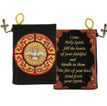 Holy Spirit Rosary Pouch