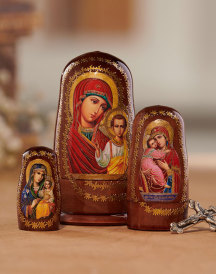 Madonna Nesting Dolls Set