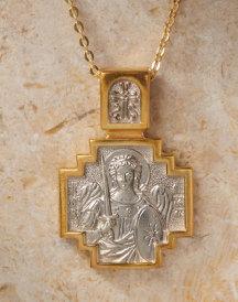Saint Michael the Archangel Cross Pendant
