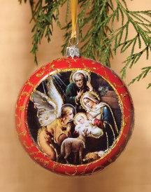 Adoration of the Angels Ornament