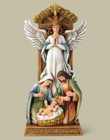 Adoring Angel Nativity
