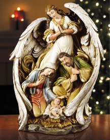 Angel Nativity Deluxe Figurine