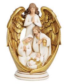 Angelic Nativity Figurine