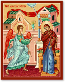 Annunciation icon - 3