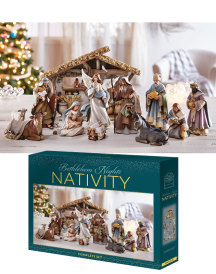 Bethlehem Nights Deluxe Nativity Set