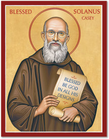 Blessed Solanus Casey icon