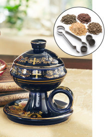 Home Incense Kit with Ceramic Censer