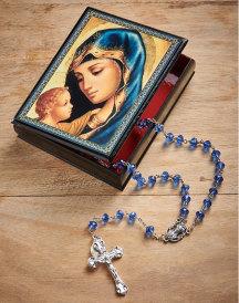 Blue Madonna Box