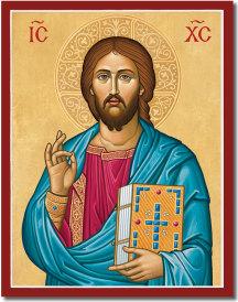 Byzantine Christ icon