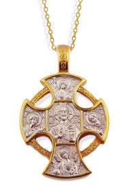 Byzantine Style Gold Cross