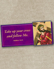 Way of the Cross Inspirational Magnet