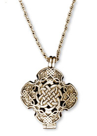 Celtic Prayer Locket