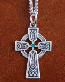 Celtic Sterling Silver Cross