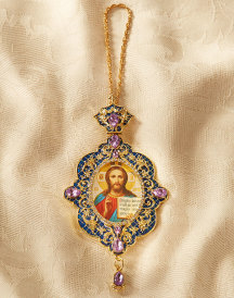 Christ Jeweled Icon Ornament