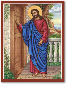 Christ Knocking at the Door Icon - 19