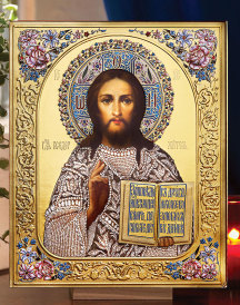 Christ of the Roses Icon