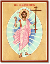 Christ Resurrected icon - 4.5