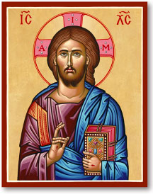 Christ the Lifegiver icon - 3