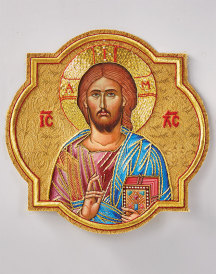 Christ the Lifegiver vestment emblem