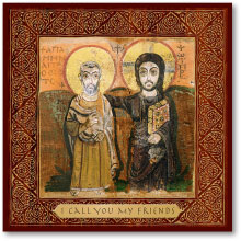 Christ the True Friend icon - 4